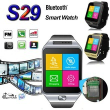 1.54 Inch Touch Screen Support SIM/SD Smart Watch S29 Phones with Camera for Samsung Huawei Android Smartphone(China (Mainland))