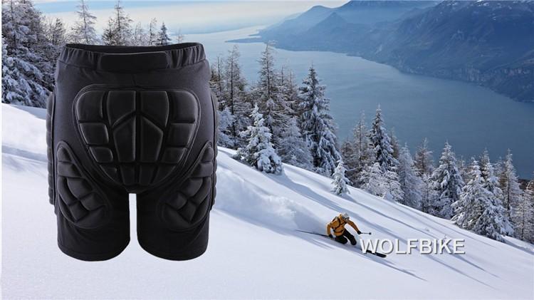 Черные короткие Защитные прокладки для бедер и ягодиц лыжи коньки сноуборд HTB1KPesGXXXXXcWXXXXq6xXFXXXo