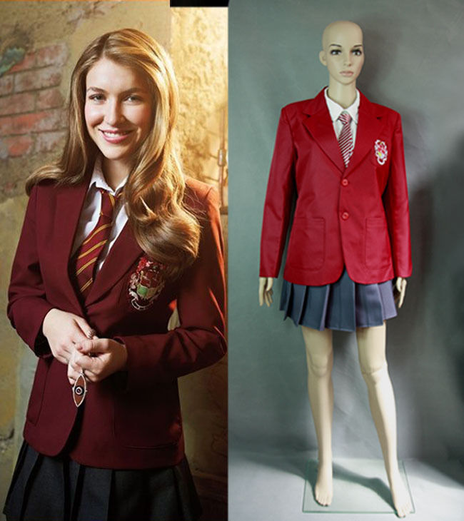 House of Anubis Girl Jacket and tie cosplay costumeОдежда и ак�е��уары<br><br><br>Aliexpress
