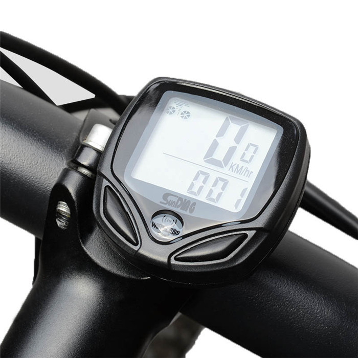SD-548C Bicycle Accessories Waterproof bicicleta odometer Stopwatch Cycling bicycle speedometer cadence wireless bike computer - Shenzhen NKU Electronic Co., Ltd. store
