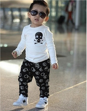 2015 New Baby boys set Spring/autumn AM family clothing boy hoodies coat +pant Kids casual sets Children clothing set(China (Mainland))