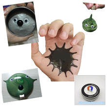 Magnetic Rubber Mud Strong plasticine Putty Magnetic clay Awesome Education Novelty Toys Gift for Kids Aluminum box