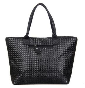 Weave Handbag Hot Selling Women PU Leather Cheap Handbag Tote Shoulder Bags Large Capacity PU Weave Bags Fashion Design(China (Mainland))