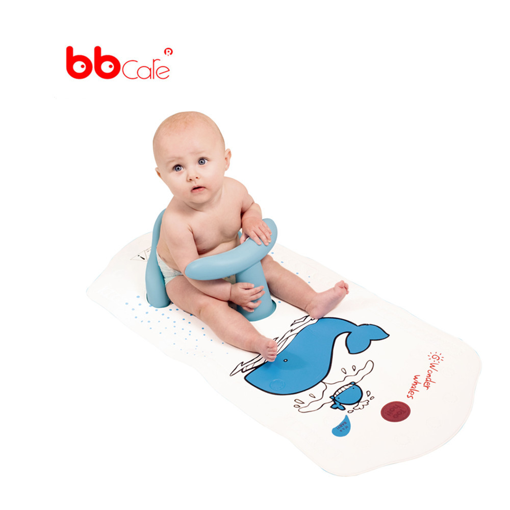 BBCare Baby Safety Bath Seat with Extra Long Non-slip Bath Mat(China (Mainland))