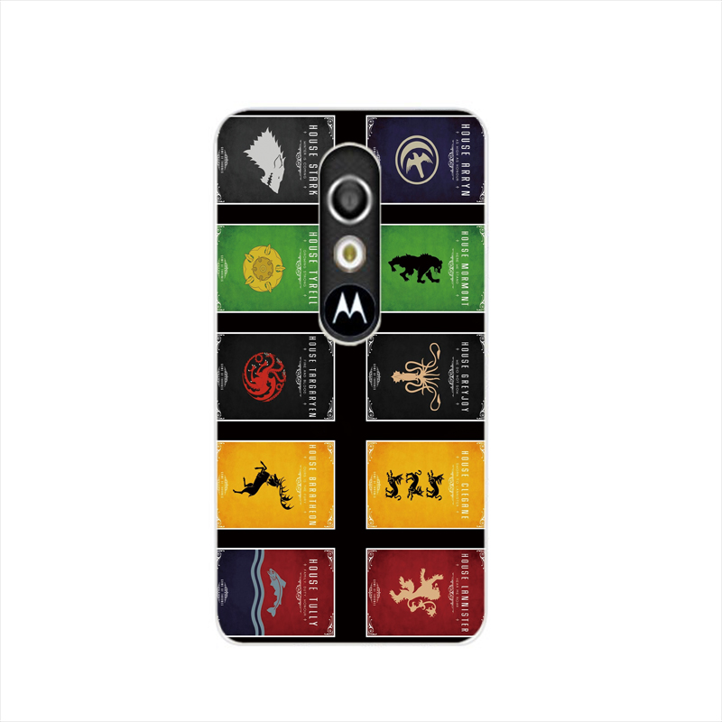 19171 Game of Throne Badge cell phone case cover for For Motorola Moto G3 G4 X+1 PLAY PLUS ONE style(China (Mainland))