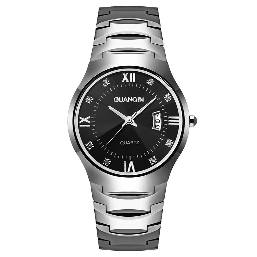 Designer Watches Men Made Of Tungsten Rome Dial Luminous Jewel Surface Waterproof Business Men Wrist Watch(China (Mainland))