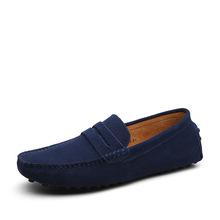 Mens Shoes Casual 2016 Fashion Men Shoes Genuine Leather Flat Shoes Men Loafers Moccasins Slip On Men's Flats Male Shoes