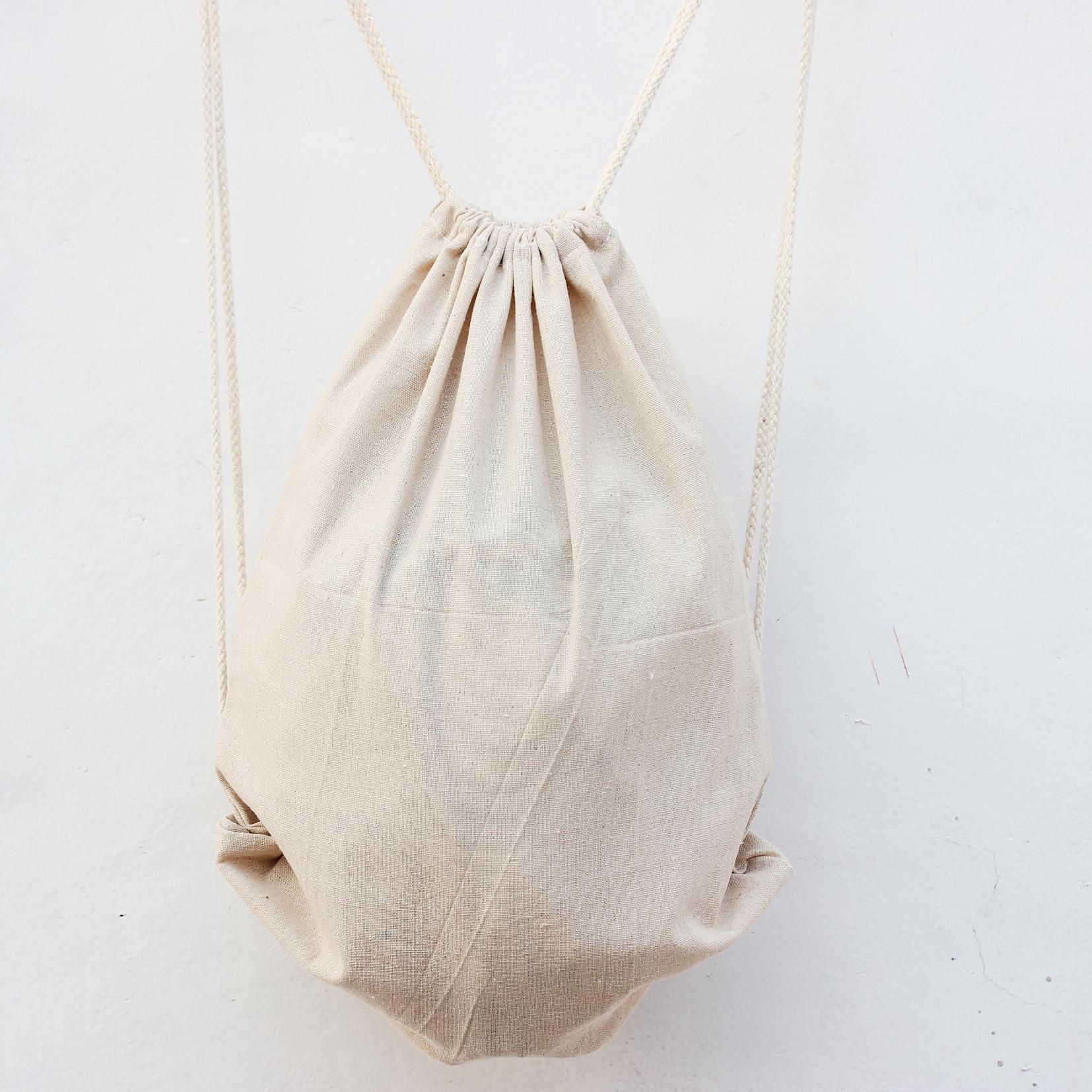Wholesale Drawstring Bag Fashion Catoon Backpacks Travel Cotton ...