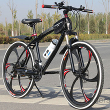 Free Shipping 26 Inch 24 Speed mountain bike bicycle Double Disc Brake downhill Road Bike Special For Russia Style