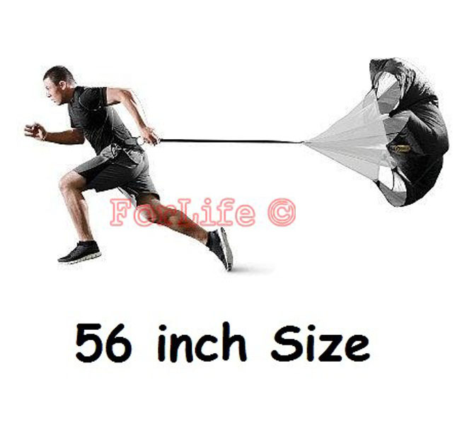 "56"" Speed Training Resistance Parachute Running Chute Speed Chute Running Umbrella With Storage Bag(China (Mainland))"
