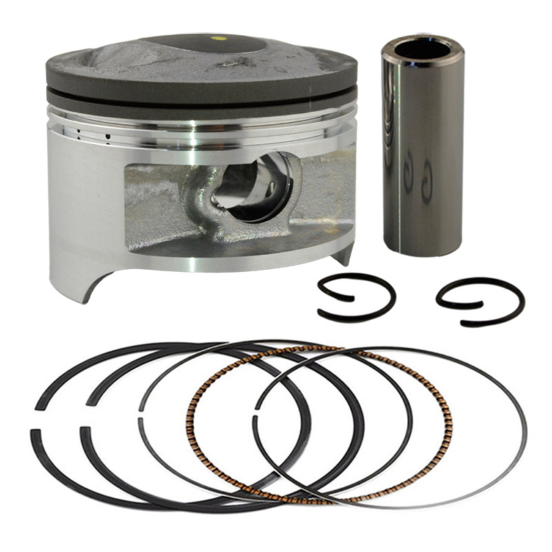 Standard 66mm Piston Set with Pin Rings Clip Kit For Suzuki DR200 DR 200 STD(China (Mainland))