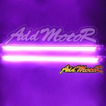 "2x12"" 30cm Purple Exterior & Interior Under Car Neon Lights Neon Lamp  313#"