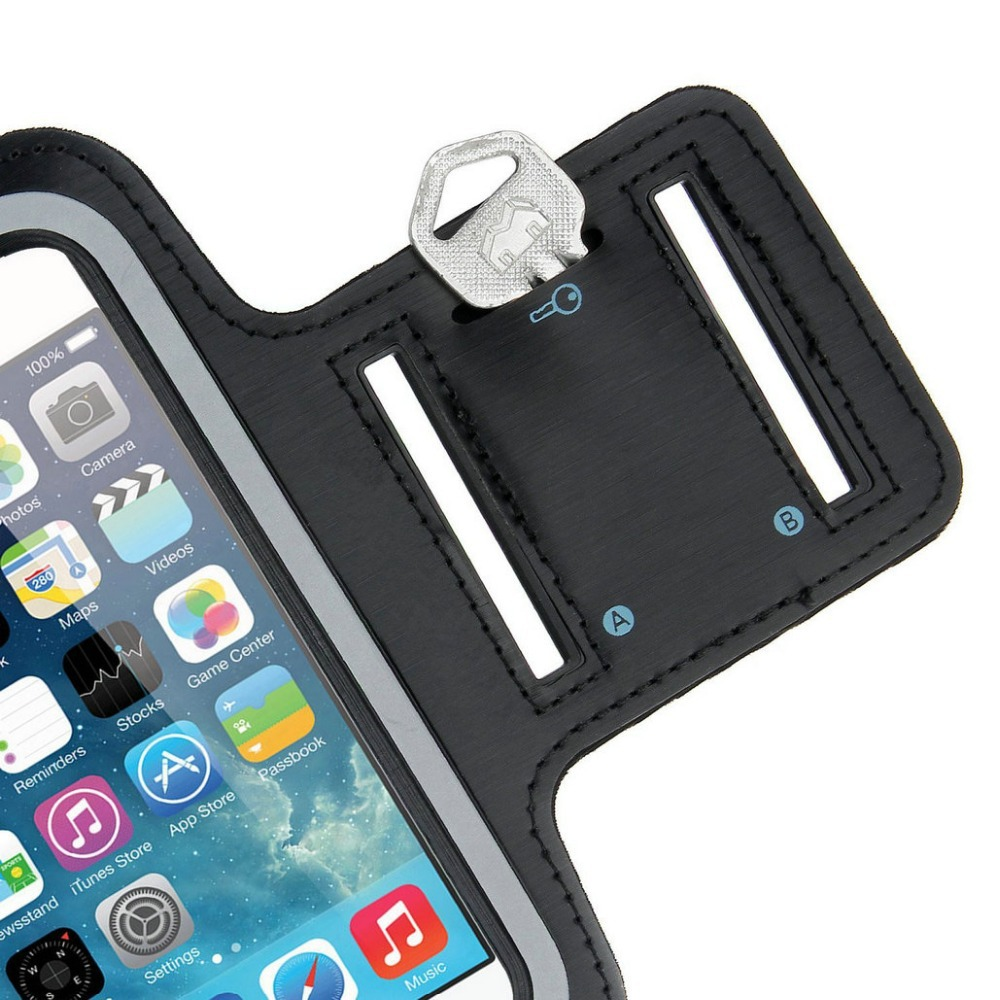 Sport Armband Case Running Pounch Phone Bags Cases For iPhone 6 Plus 5.5 inch  Cell Mobile Phone Arm Band for iPhone6  plus Case