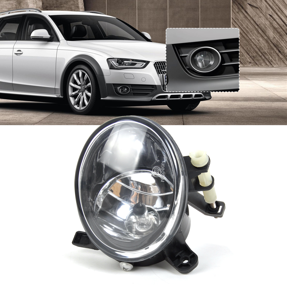 New Front Right Fog Light Lamp 8T0941700B For Audi A4 B8
