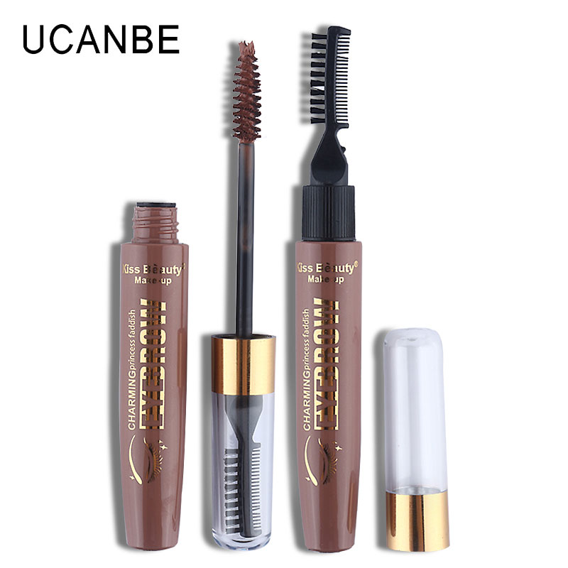 New 3D Eye Brow Gel Eyebrow Tint Cream Tattoo Eyebrow Brush Brand Korean Makeup Waterproof Eye Brow Dipbrow Cosmetics Maquiagem(China (Mainland))