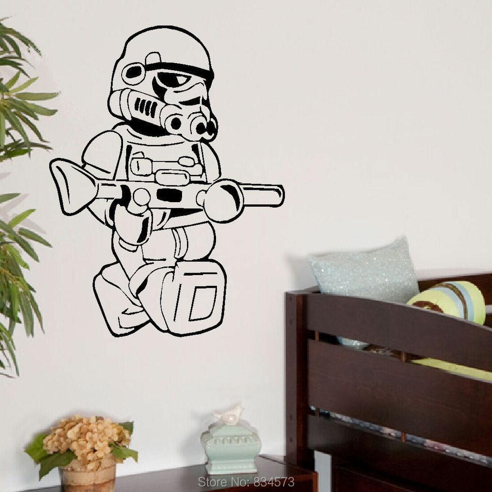 buy star wars lego men storm trooper wall. Black Bedroom Furniture Sets. Home Design Ideas