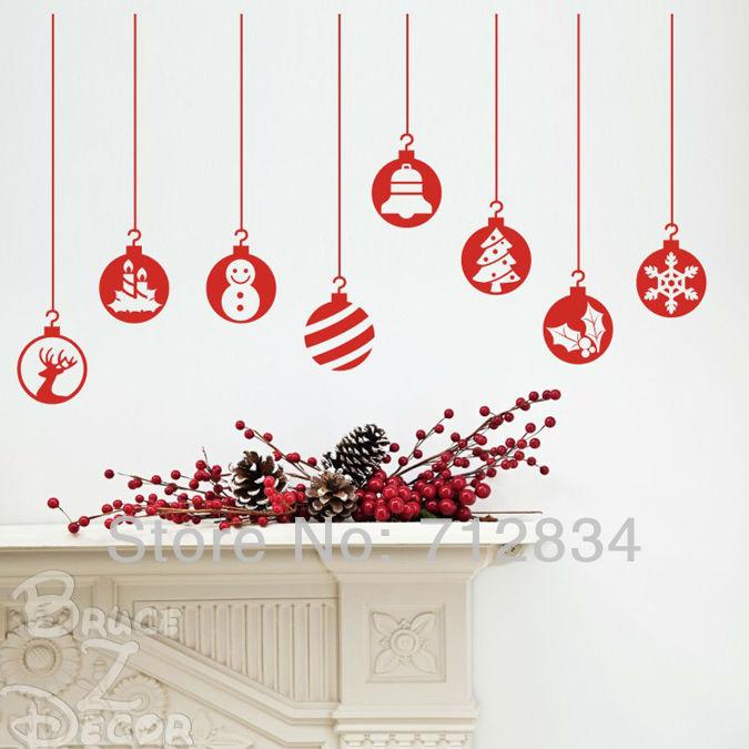 B Z D Free Shipping Large Merry Christmas Snowballs