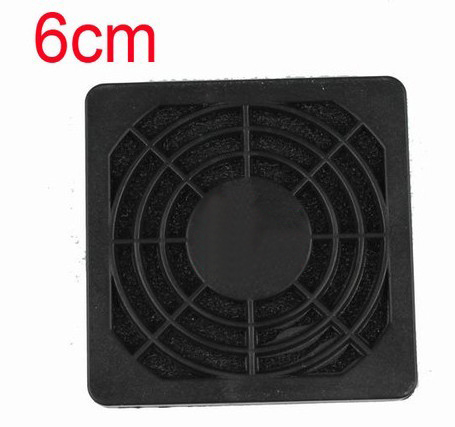 6CM Computer Black Dustproof Dust Filter Fan Strainer 50 PCS Lot