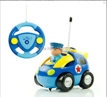 FreeShipping Child electric remote control police car remote control car toys automobile race cartoon remote control car toy car