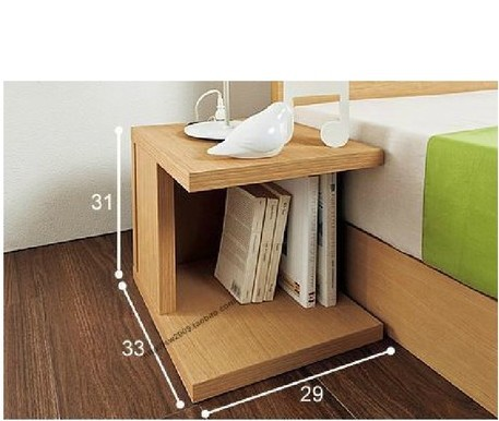 EC FURNITURE nightstand small mini locker small coffee table bedside table, regardless of the side around a few FREE SHIPPING(China (Mainland))