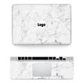 Hot Sale Laptop Sticker For Macbook Vinyl Decal Front Wrist Pad Sticker Marble Grain Skin For