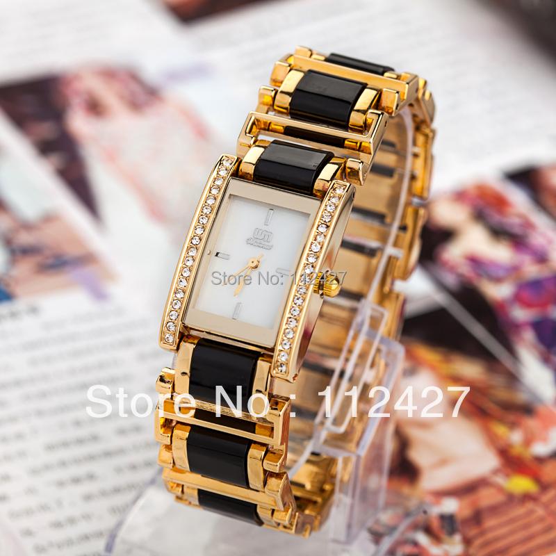 2015 New Reloj Saat Alloy Cartoon Office Style Fashion Women/girl Watch High Quality Plated Bracelet Quartz Diamond Wrist Ap319(China (Mainland))
