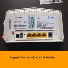 Original YOUHUA HG230 telecommunications VDSL MODEM 4-port Ethernet routing WIFI Wireless Router compatible ADSL Broadband(China (Mainland))