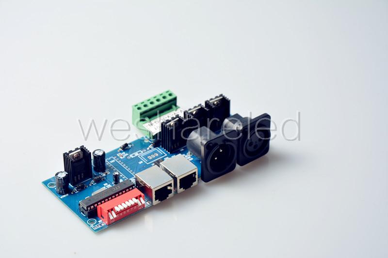 DMX512 Controller LED DMX 512 decoder,RGB 3CH DMX512 controller(China (Mainland))
