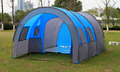 10 Person 480 310 210cm Large Camping Tent Outdoor Tunnel Tents One Bedroom 2 Living Room