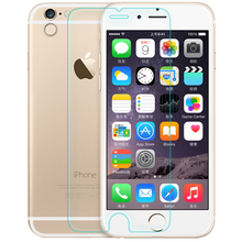 """0.3mm Tempered Glass for iPhone 6 4.7"""" 9H Hard 2.5D Arc Edge Round Border Front Screen Protector with Clean Tools(China (Mainland))"""