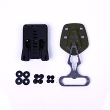 EDC Gear Multifunction belt clip/K sheath can use for knife with K sheath torch light or AXE EDC