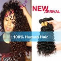 Charming 4pcs A Lot Indian Remy Hair Indian Deep Wave Hair 8A Grade Indian Virgin Unprocessed