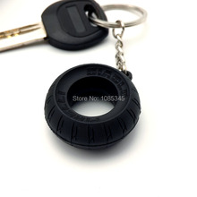 Motorcycle Key Ring Car Tyre Emblem Keychain Rubber Keychain Tire Keyring Key Chain Keyfob chaveiro moto(China (Mainland))