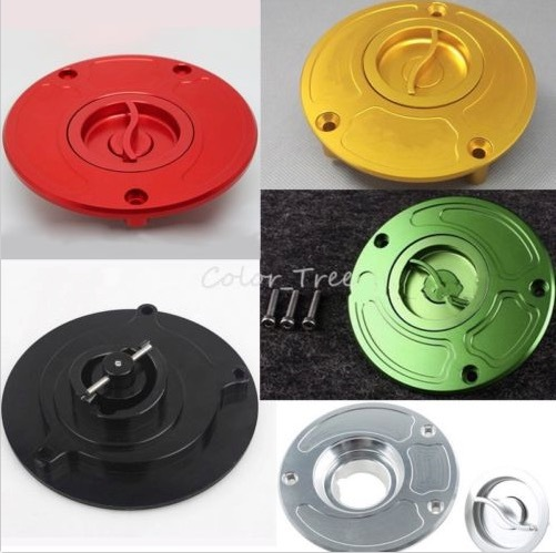 Details about  CNC Fuel Gas Cap For Kawasaki ZX6R 00-09 / ZX6RR 03-06/ ZX9R 00-03 / ZX10R 04-09 <br><br>Aliexpress