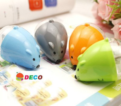 Cute mouse plastic pencil sharpener,4colors,Good quality,wholesale(ss-2089)<br><br>Aliexpress