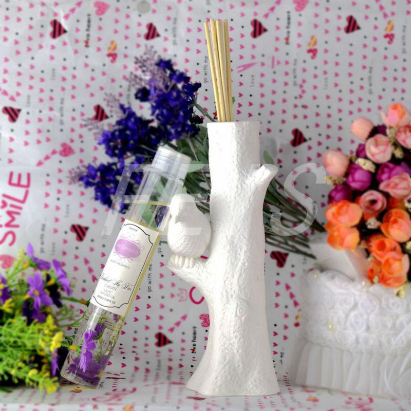 100ml Smoke-free Rattan Cherry Lilac Essential Oil ,Bird Ceramic Diffuser,Home Fragrance,Green Air,Deodorant,Aromatic(China (Mainland))