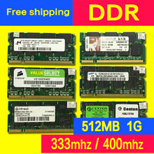 second hand DDR 512MB 1gb 333mhz 400mhz PC2700  ram for laptop computer notebook Memory Memoria sodimm used