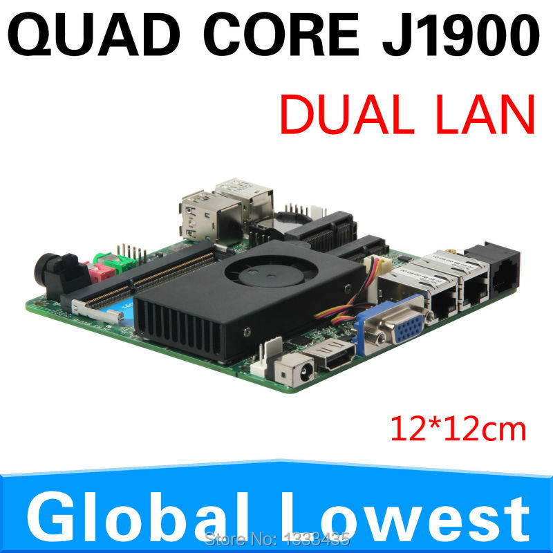 j1900 CPU motherboard MINI-ITXboard Thin client motherboard with VGA/USB port AMD PC can oem/odm mini pc(China (Mainland))