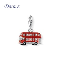Vw Bus Charms Pendants Fit Ts Bracelets & Necklaces Thomas Style Silver Plated Charms Club For Women DIY Accessories Bijoux New