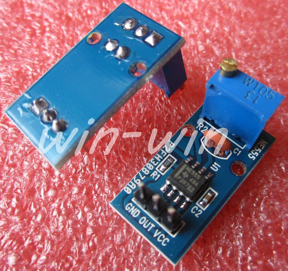 Гаджет  NE555 adjustable frequency pulse generator module Smart Car  None Электронные компоненты и материалы