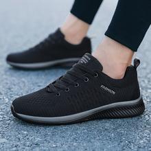 Nueva malla de Zapatos casuales de los hombres-Lac-hombres Zapatos ligeros cómodo transpirable caminando zapatillas de Tenis femenino Zapatos(China)