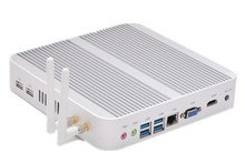 OEM mini desktop pc aluminium mini itx case Nettop htpc Mi4010 i3-4010U Support win 7 / 8.1 / Linux power pc(China (Mainland))