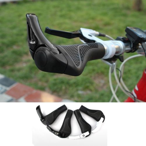 Hot ! Special Offer Top Fashion Carbon Handlebar Road Cycling Mountain MTB Bike Bicycle Lock-ON Handlebar Cover Handle Bar End(China (Mainland))