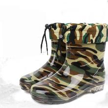 2016 Rushed New Medium(b,m) Vulcanized 7cm And Up Pu Shoes Shoes Winter Fishing Boots, Military Boots E Waterproof Slip Rubber