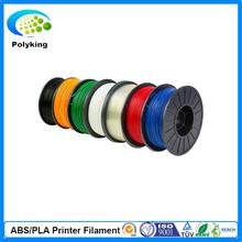 2015 New 1KG /Spool 3D Printer Filament Flexible Consumables 1.75MM 3MM PLA Transparent Color For MakerBot RepRap UP Mende