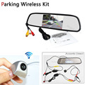 Hight Resolution Wireless Parking Aystem 4 3 Inch LCD TFT Car Mirror Monitor CCD Rear View