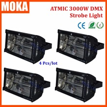 Buy 4Pcs/Lot Stage Effect Strobe Light Atomic Flash Martin High Intensity Discharge 3000W Strobe Lighting 50 Hz Supply Lights for $742.00 in AliExpress store
