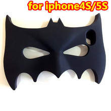 Bulk Wholesale 3D Cartoon Anime Hero Batman Soft Rubber Mobile Phone Case Cover For Apple iphone 4G 4S 5 5G Gen Defender Shell
