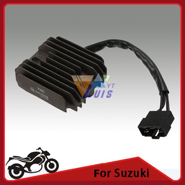Black Motorcycle Regulator Rectifier Voltage for Suzuki GSXR600/750/1000/ GSX1300R Hayabusa VL1500 Intruder Quadrunner(China (Mainland))