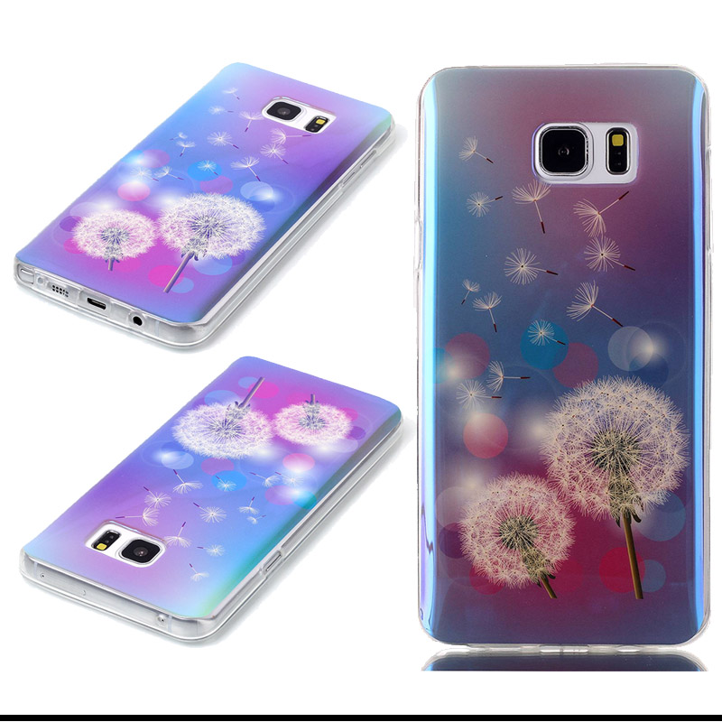 Ultra Thin Soft Silicon TPU Case Blue Light Back Cover For Samsung Galaxy S3 S4 S5 S6 S7 Edge Plus Note 5 Grand Prime G530